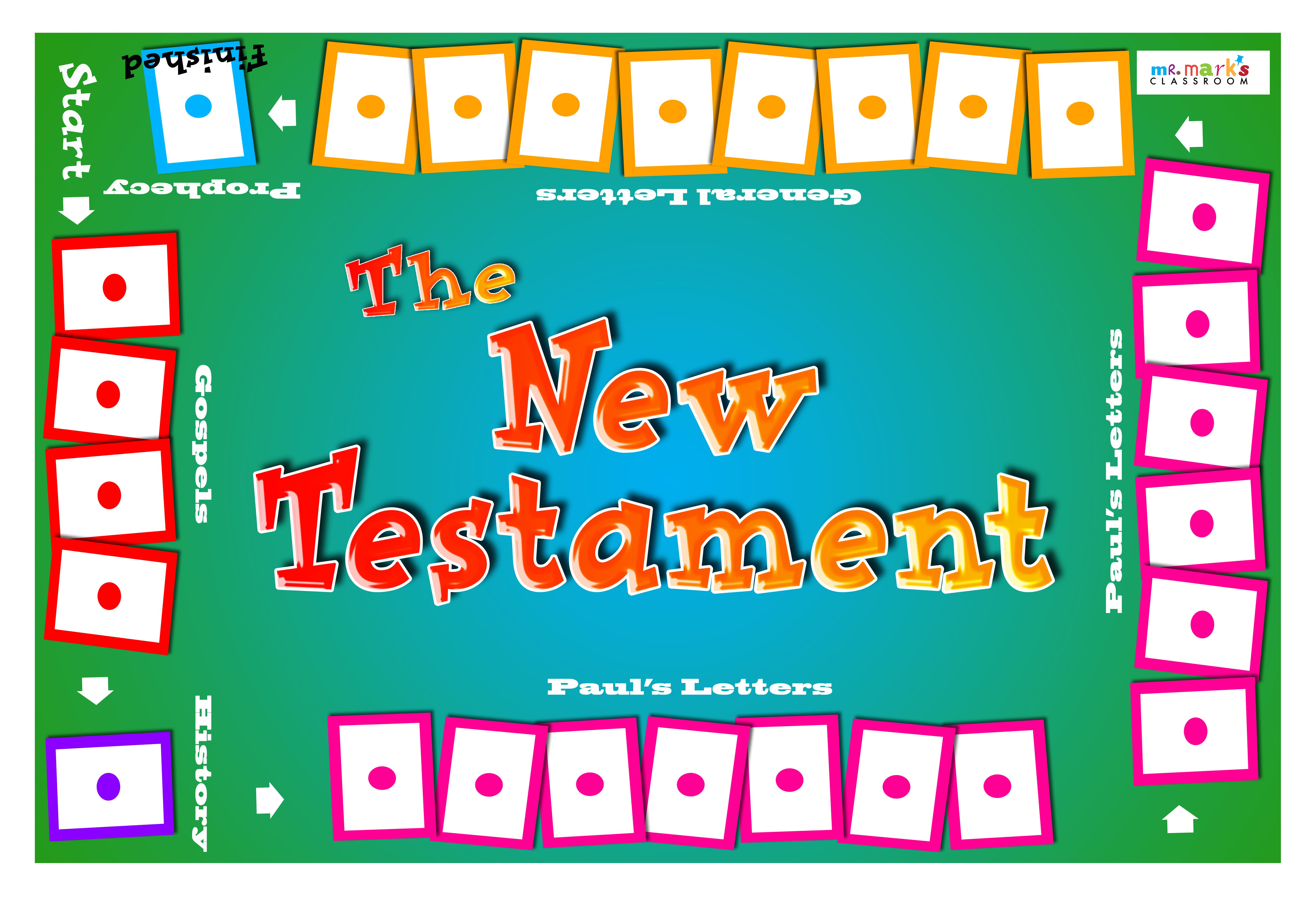 New Testament Bible Skills Game