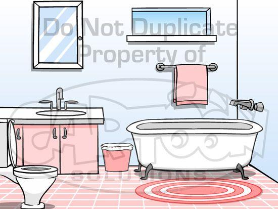 Cartoon Solutions Anime Studio Backgrounds Bathroom Anime