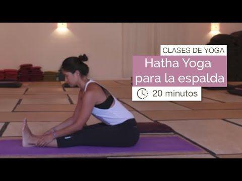 Fußboden Ideen Yoga ~ Clase de yoga hatha yoga para la espalda minutos youtube