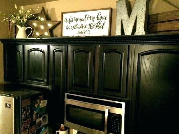 Ideas For Kitchen Cabinets On Top Decorations Top Kitchen Cabinets Decor Decorating Above Kitchen Cabinets Kitchen Cabinets Decor