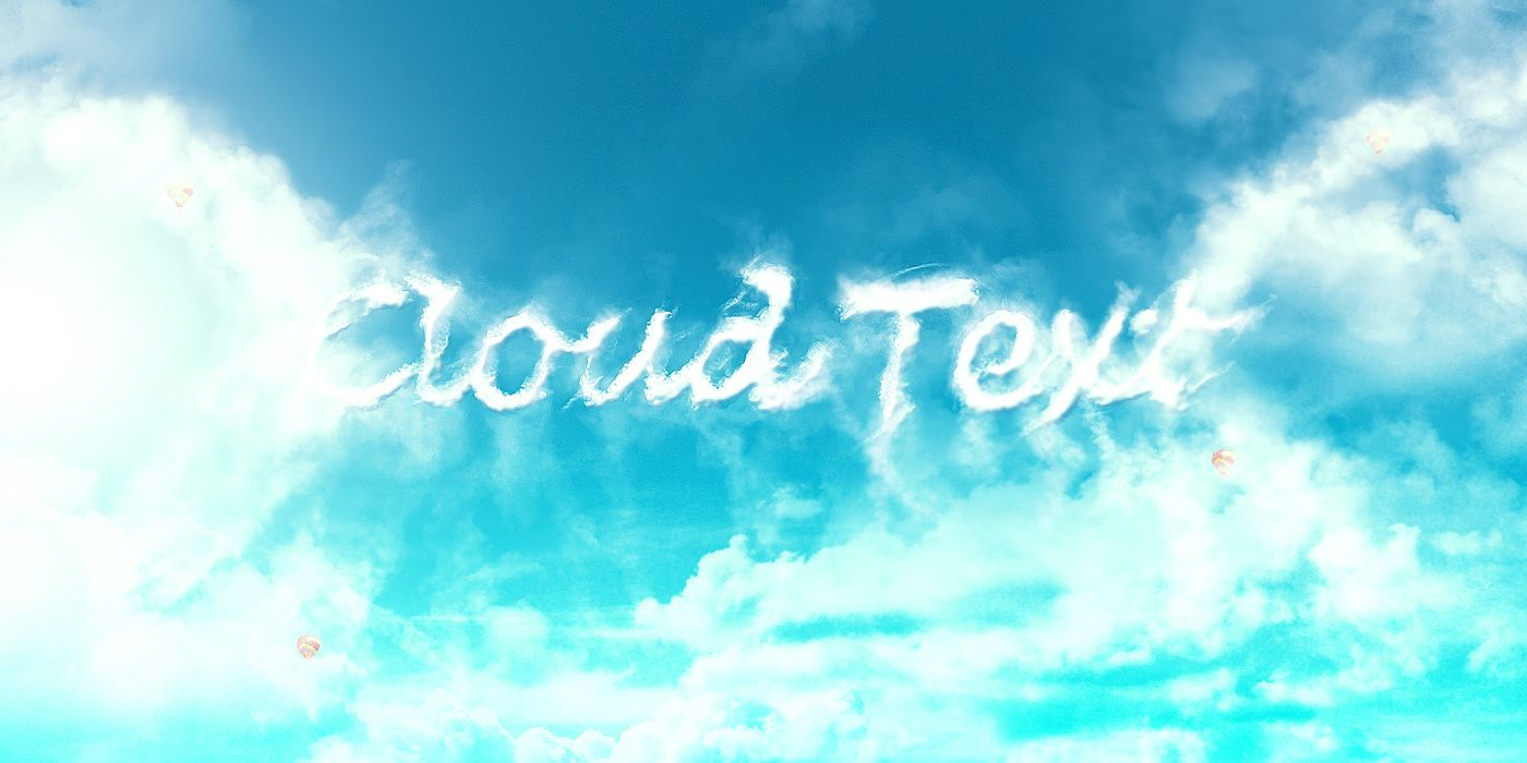 Design an interesting cloud text effect in photoshop photoshop design an interesting cloud text effect in photoshop baditri Gallery