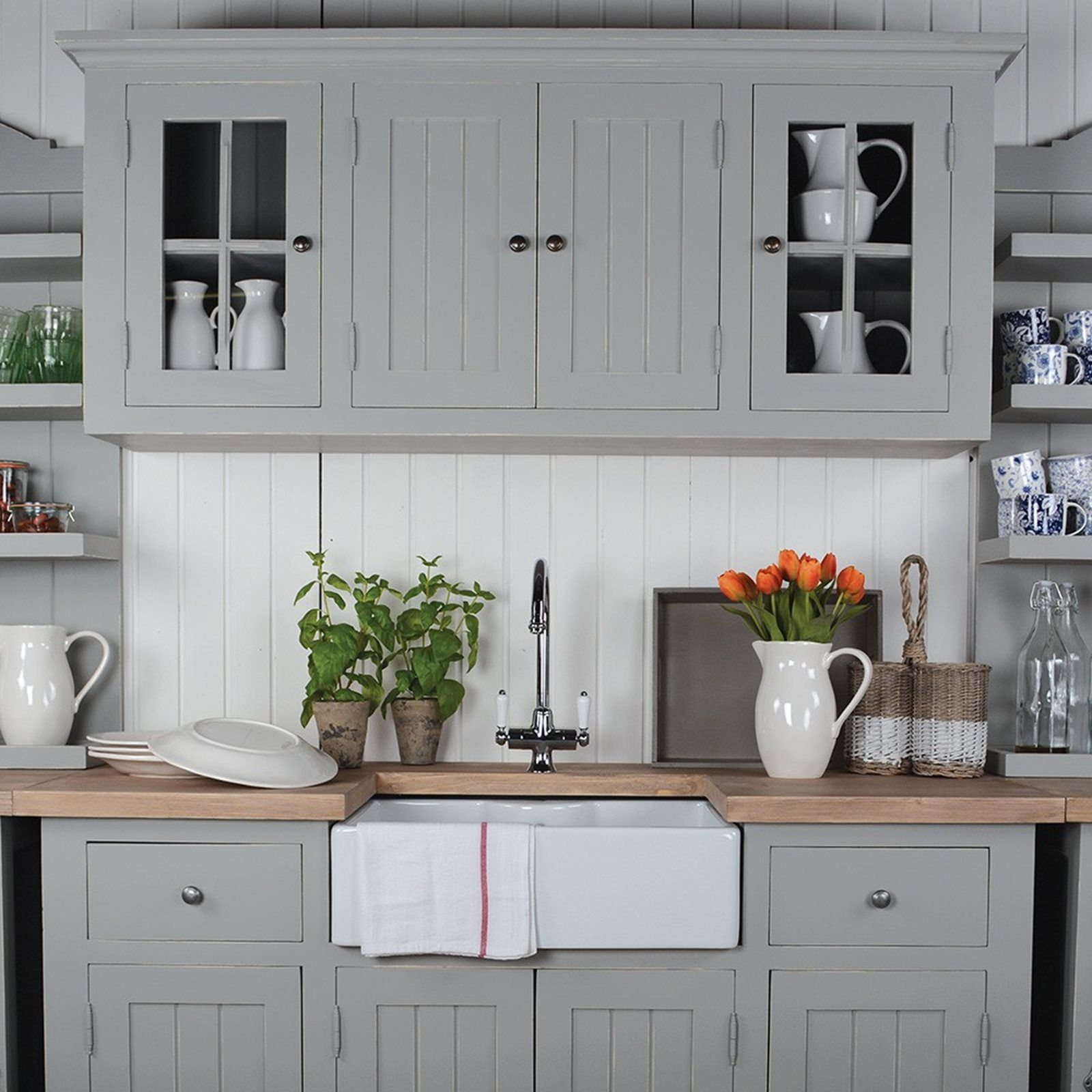 HICKS and HICKS Kitchen Utility Room Sink Unit This stand alone