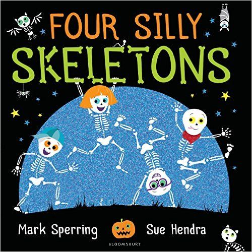 Four Silly Skeletons book resources and printables