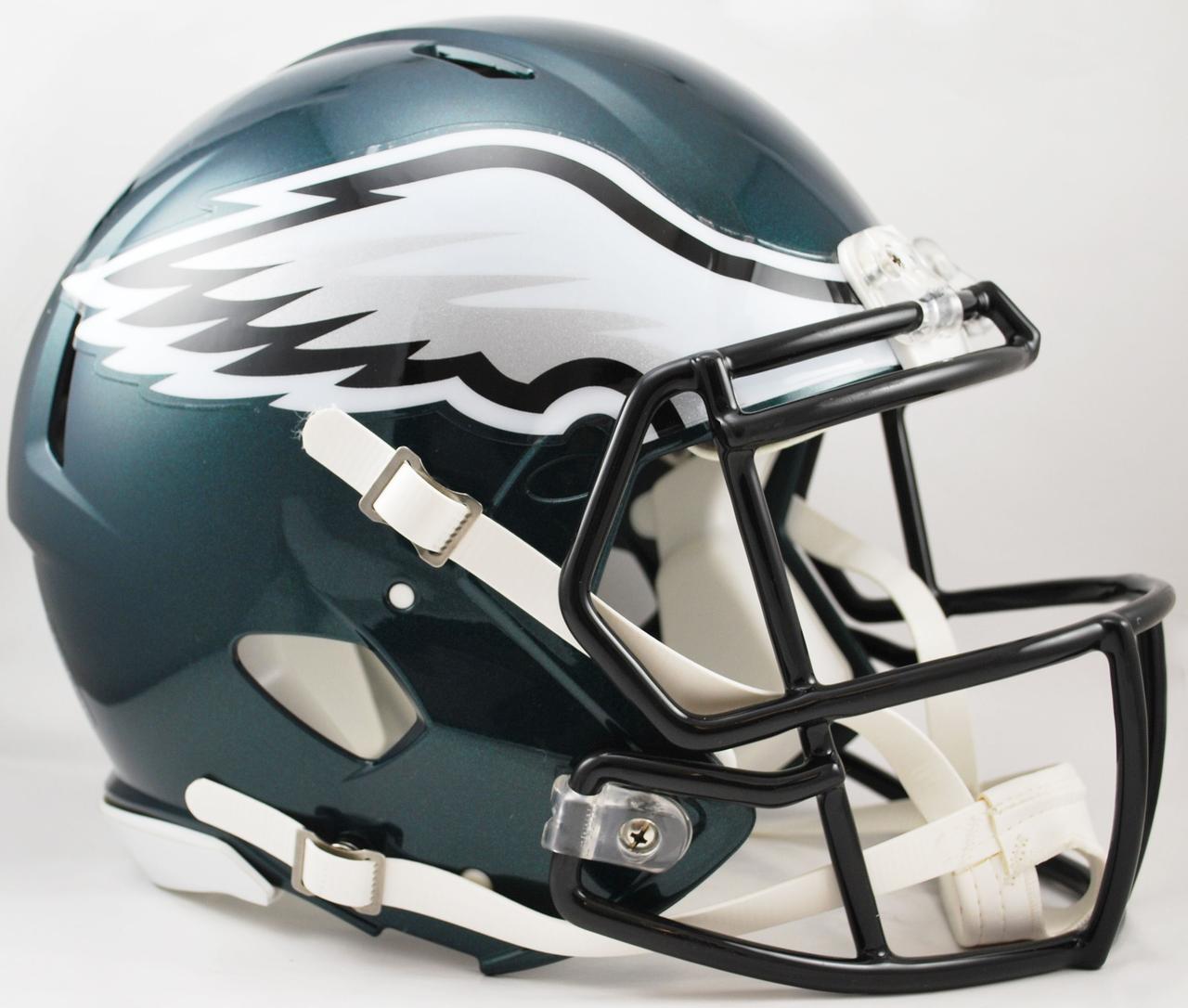 Philadelphia Eagles Speed Football Helmet - Sports Integrity   Full ...
