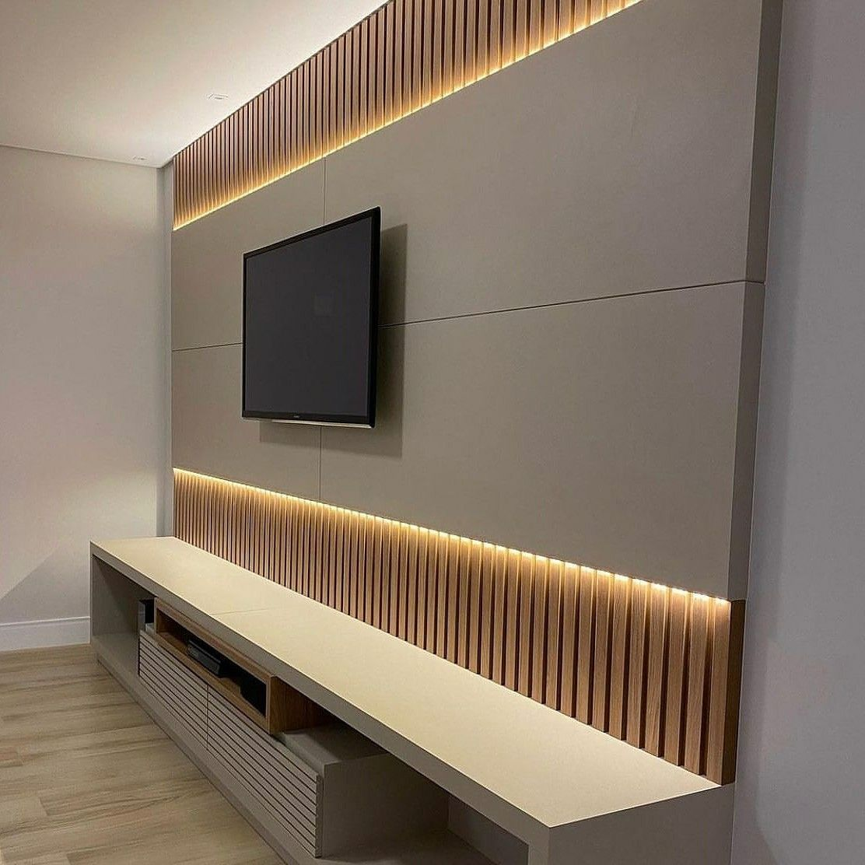 خلفية تلفزيون ديكور تلفاز ديمور خلف التلفزيون خلفية تلفزيون خشب الرياض 0535711713 House Plans House Flat Screen