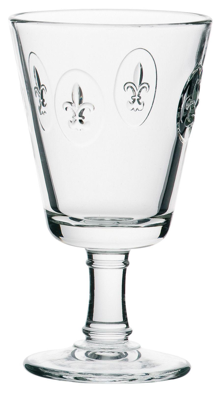 Fleur De Lys 8.5-ounce Fleur De Lys Stemmed Glasses