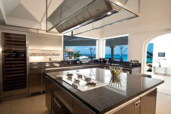 cuisine contemporaine moderne avec grande fenêtre - Recherche Google ...