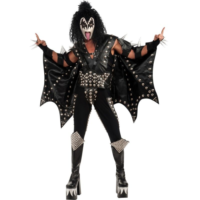Kiss Demon Makeup: KISS Collectors Demon Costume From BuyCostumes.com #Kiss