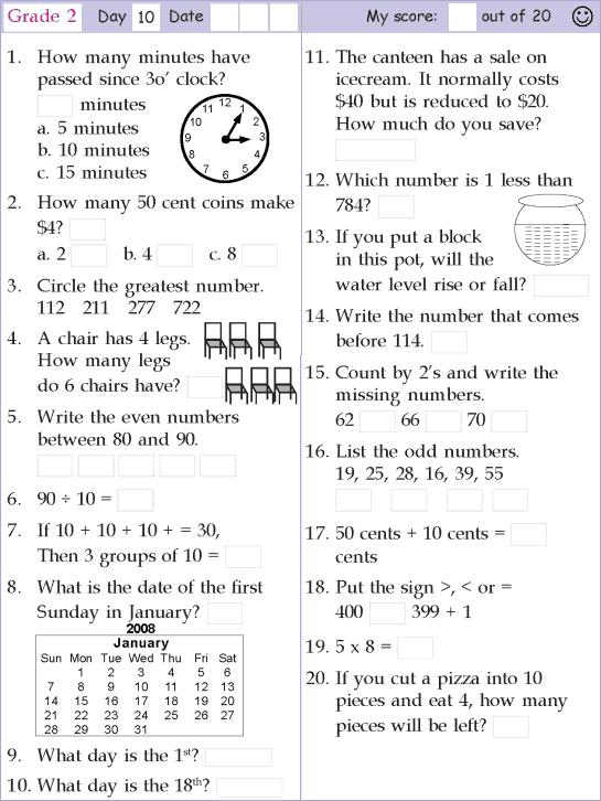 15+ Mental Math Worksheets Grade 6 Pdf