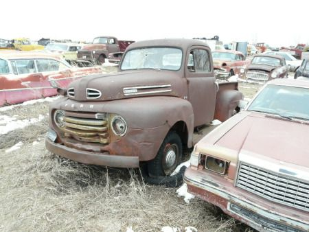 1948 50 f1 ford pickup 850 vintage cars trucks pinterest 1946 Ford Truck 1948 50 f1 ford pickup 850 rusty cars rear view mirror abandoned