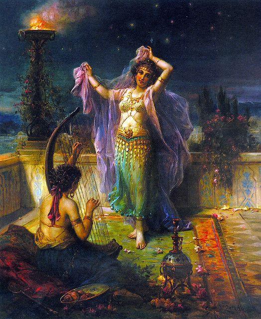 Arabian Nights illustration