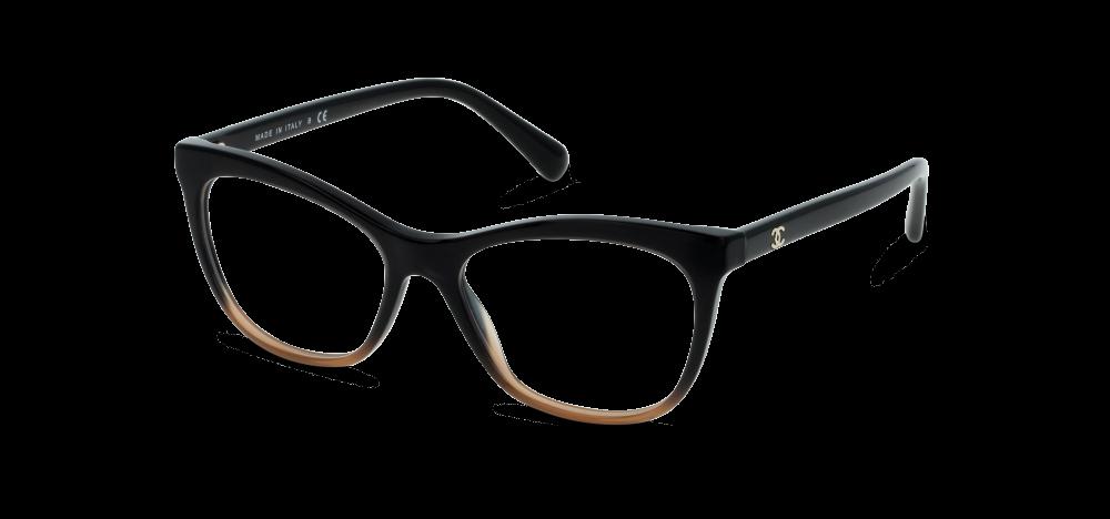 82e24012d1 Lunettes de vue Chanel 3341 1556 BLACK GRADIENT BROWN | Eyewear ...