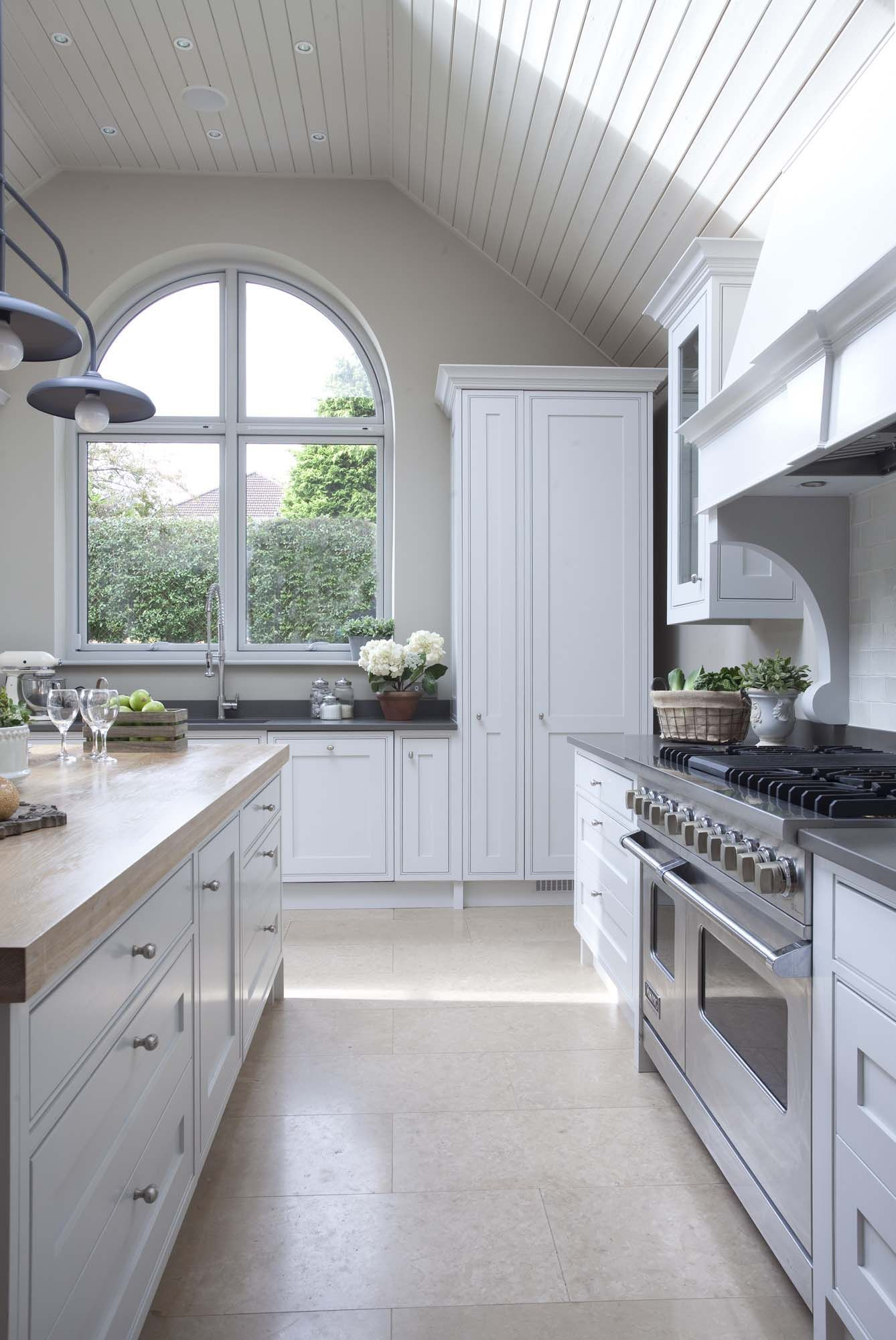 A gorgeous French Farmhouse kitchen design with unique and ...