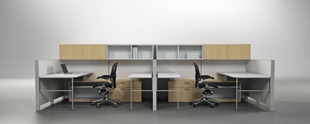 Canvas Office Landscape - Office Furniture System - Herman Miller Creating EPIC Workplaces With ...