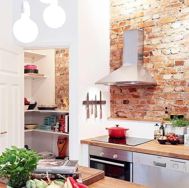 Decorare casa con i mattoni a vista - Mattoni a vista su parete ...