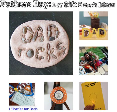 6 Fantastic Fathers Day DIY Gift & Craft Ideas