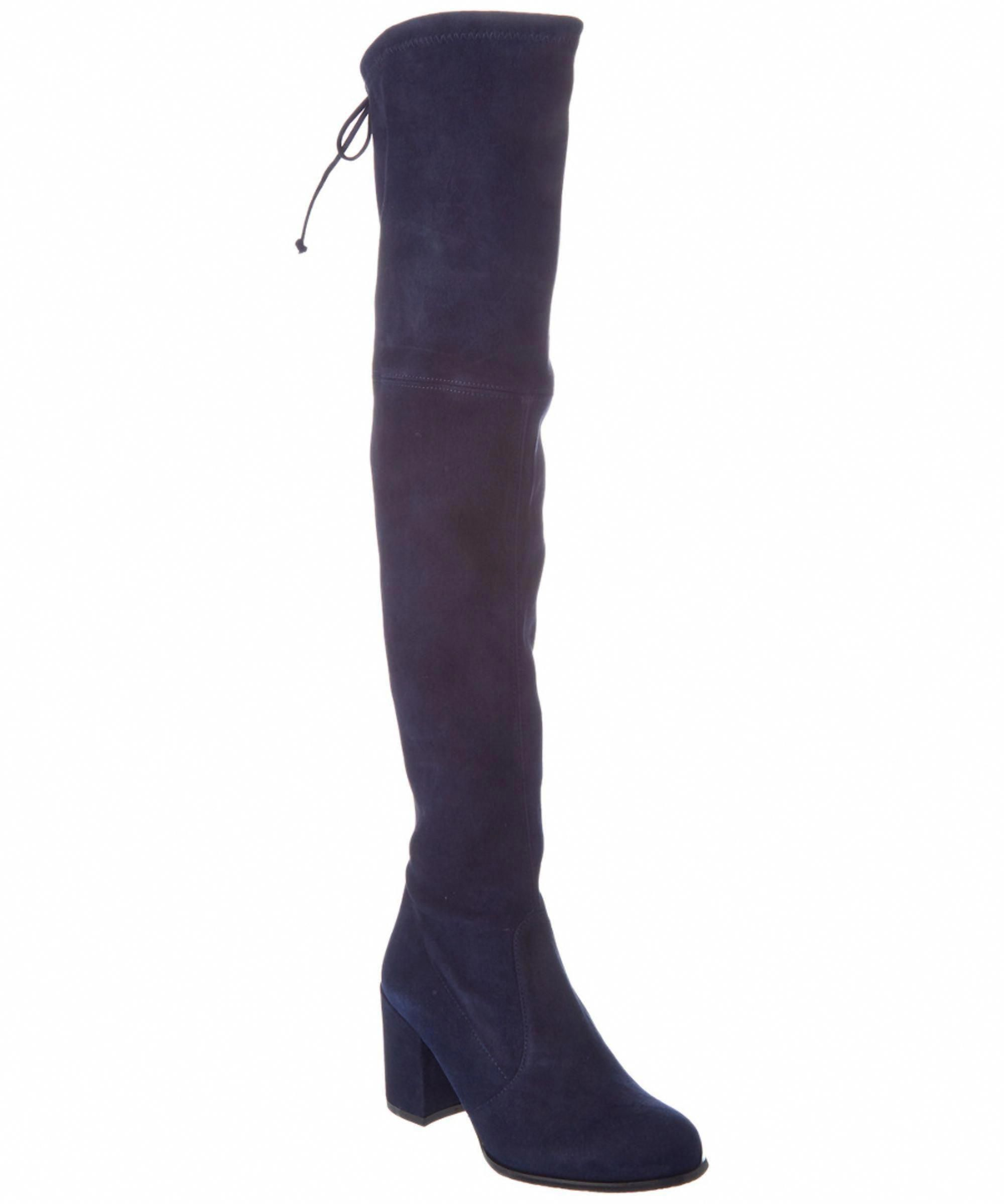 e1bd019739 STUART WEITZMAN | Stuart Weitzman Tieland Suede Over-The-Knee Boot #Shoes #