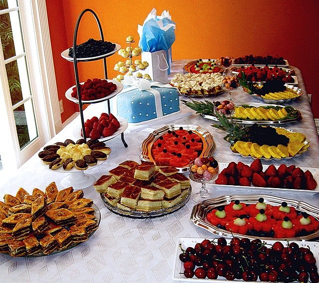 What Should You Serve Food For Baby Showers