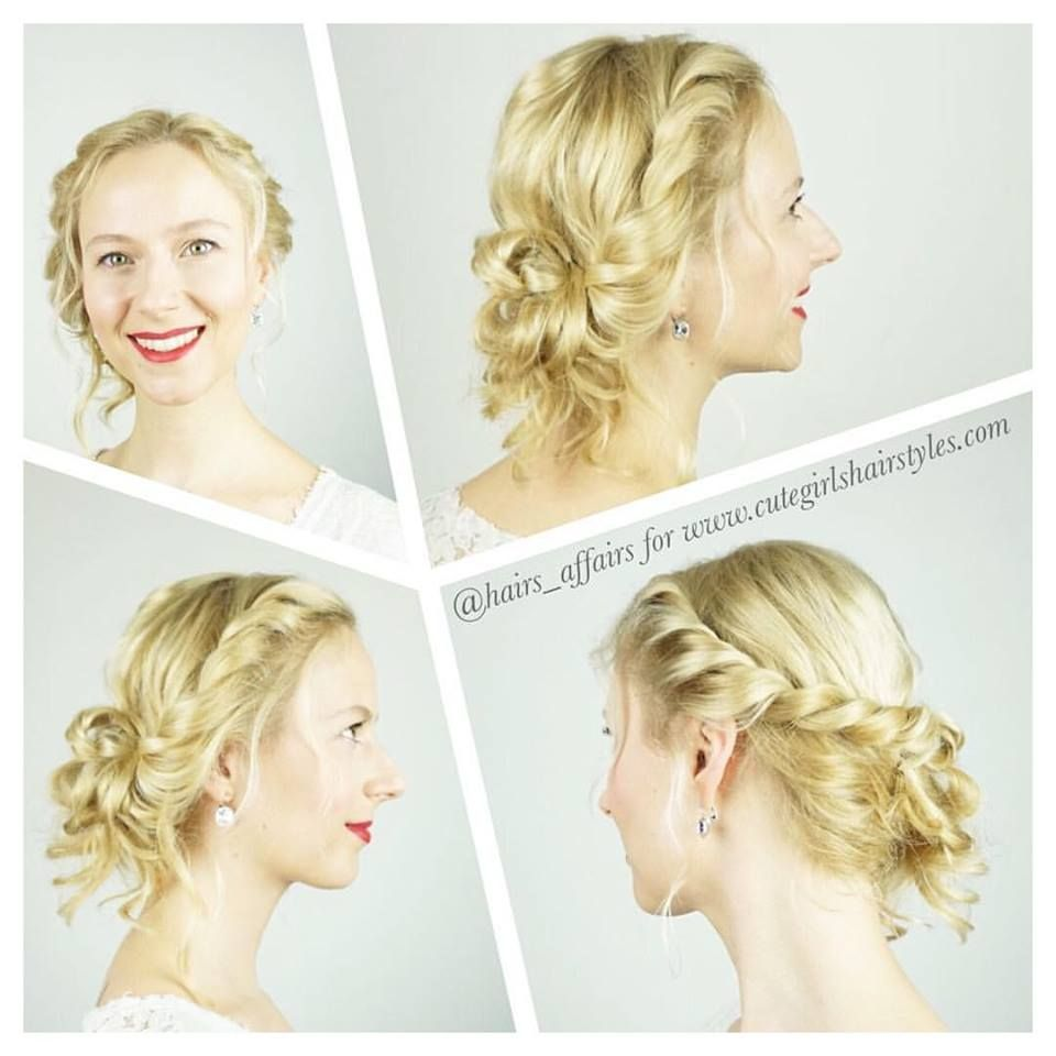 Easy diy prom hairstyle easyhairstyles easy hairstyles in