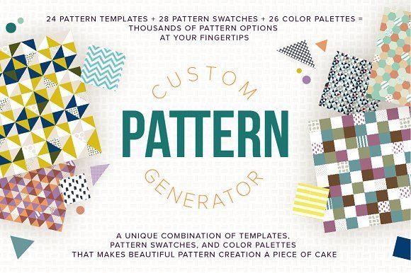 Custom Pattern Generator By Anugraha Design On Creativemarket