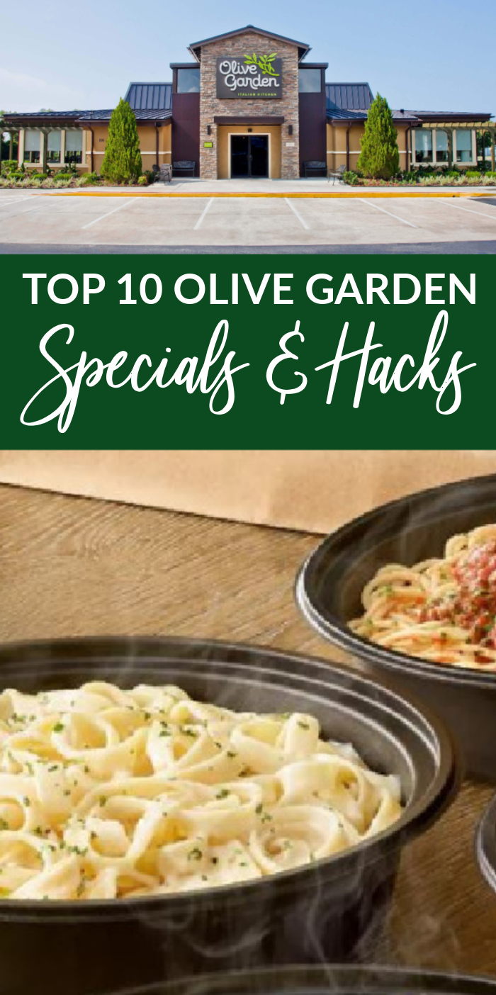Top 10 Olive Garden Specials You Don't Want to Miss! in