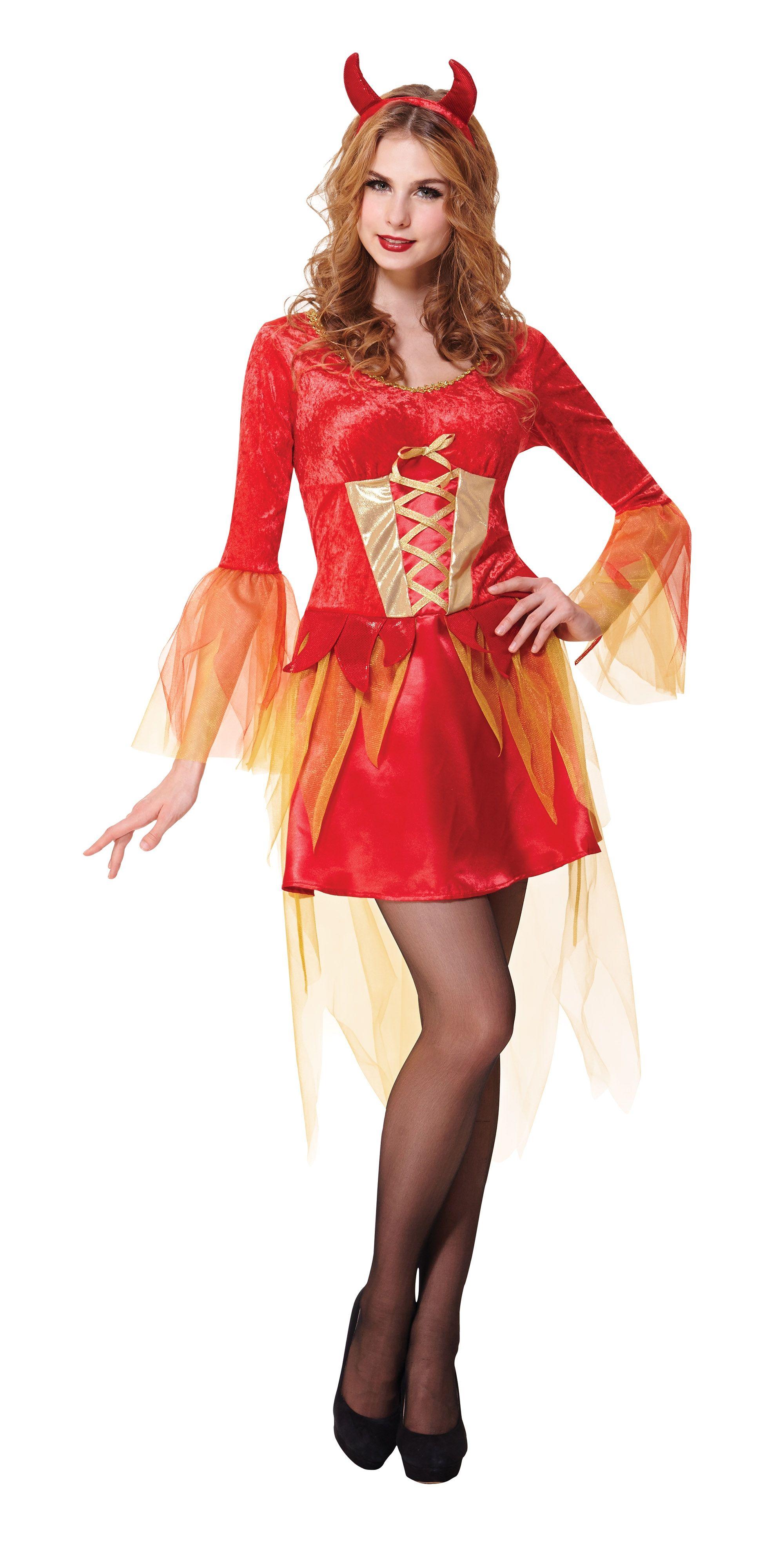 90a677c40b2 Costum Halloween femei diavolita cu coarne Costum Halloween femei diavolita  cu coarne Costume Halloween femei - pentru o aparitie deosebita la un  carnaval, ...