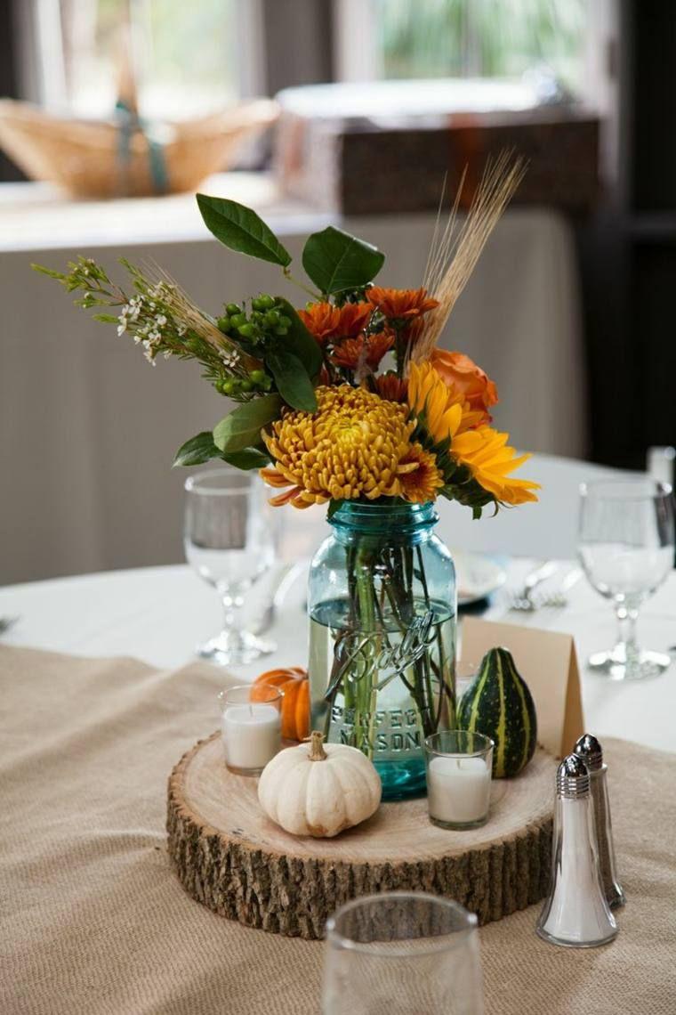 Composition Florale Centre De Table Automne centre de table pour d�coration de mariage automnal