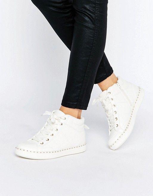 Aldo Aldo Drina White High Top Sneakers White High Top Sneakers White High Tops Sneakers