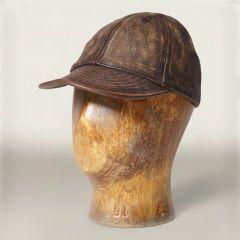 Leather Service Cap  - RalphLauren.com