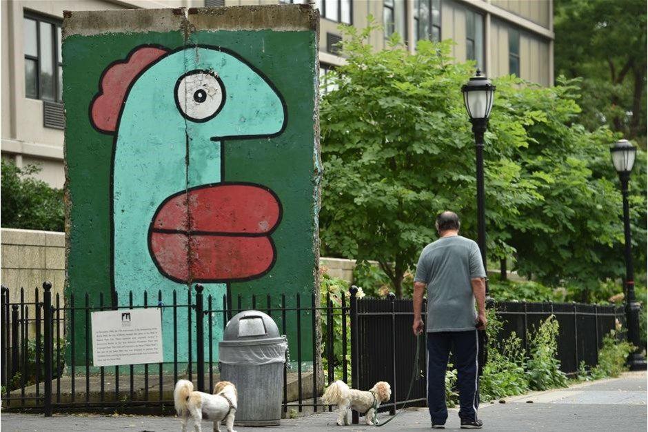 BILLEDER Berlinmuren rundt i verden | Nyheder | DR Everywhere USA Today