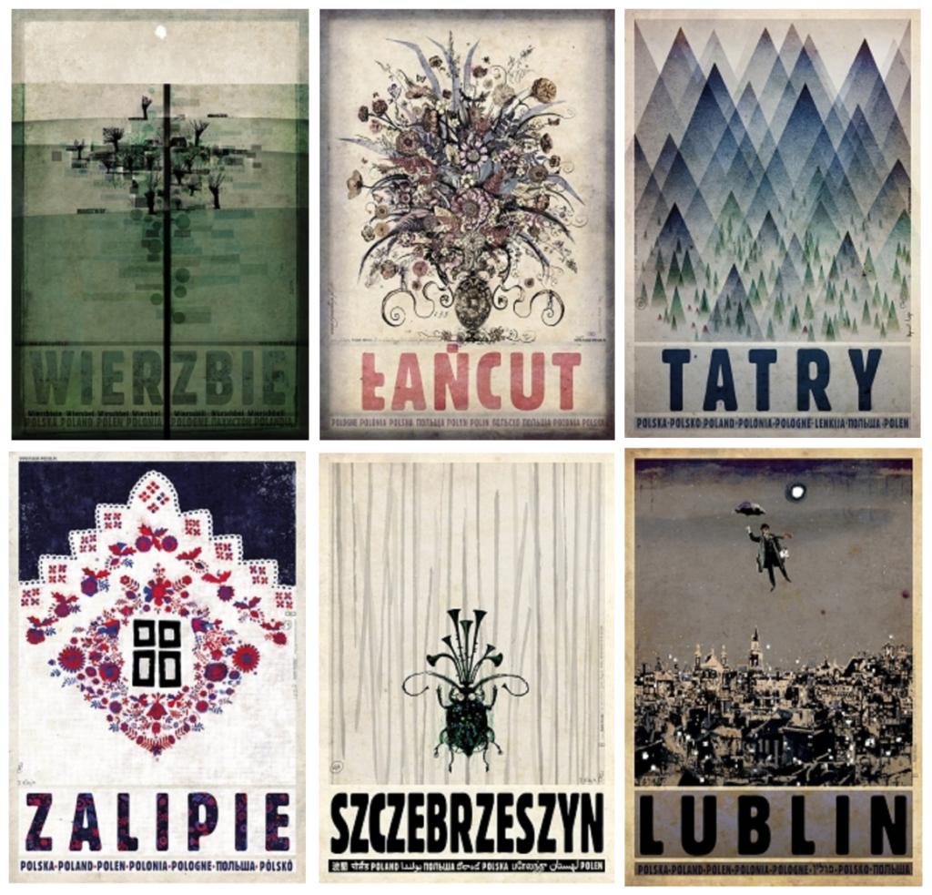 Plakaty Ryszarda Kai Ryszard Kaja Posters Polish Posters