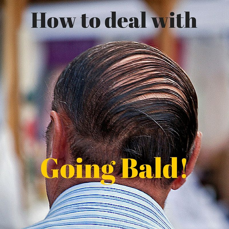 How to deal with going bald whats the best haircut when