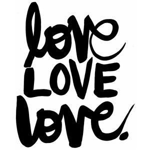 Download Love love love | Silhouette design, Love in cursive ...