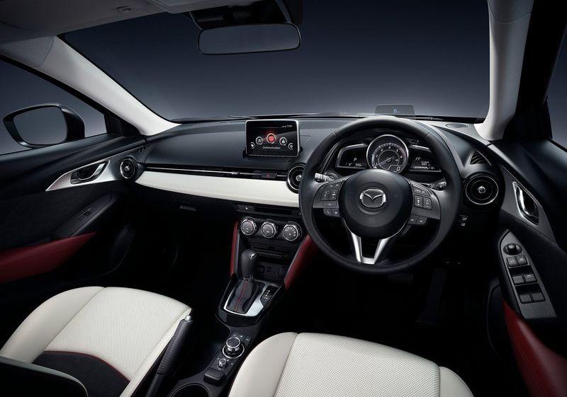 Allnew Mazda CX3 interior SUV Crossover NewCar