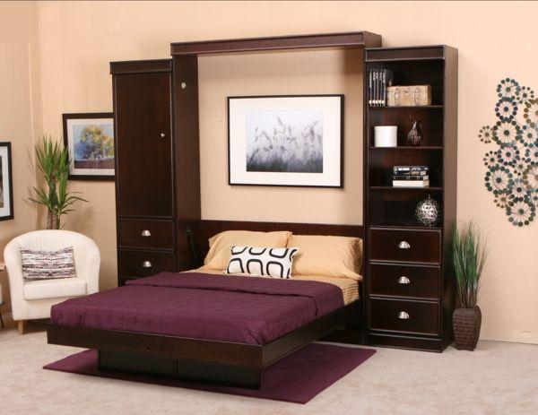 schöne-einrichtungsideen-raumsparend-kleine-wohnungen-klappbett ...