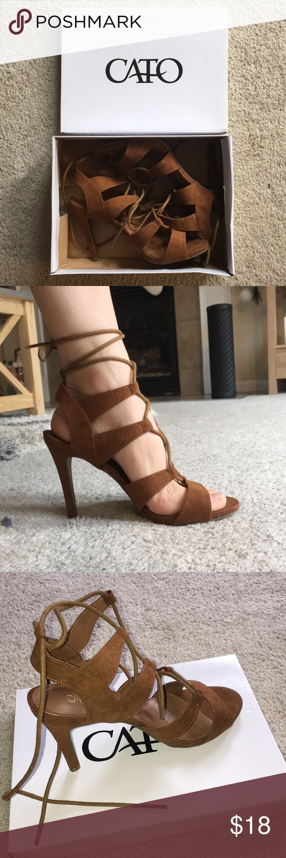Faux suede lace up heels shoes heels conditioning and customer