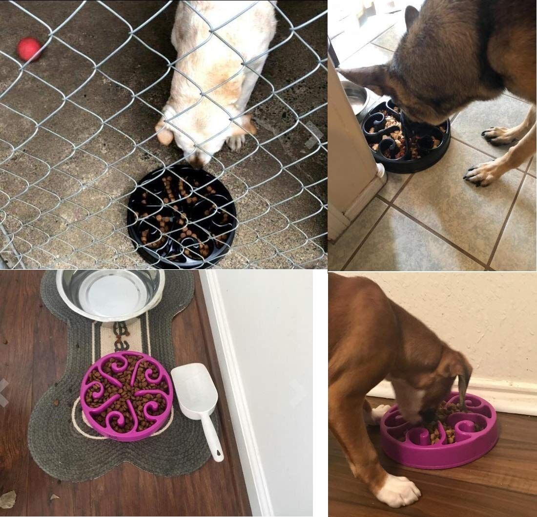 Slow Feeder Dog Bowl Bloat Stop Dog Food Bowl Maze Interactive