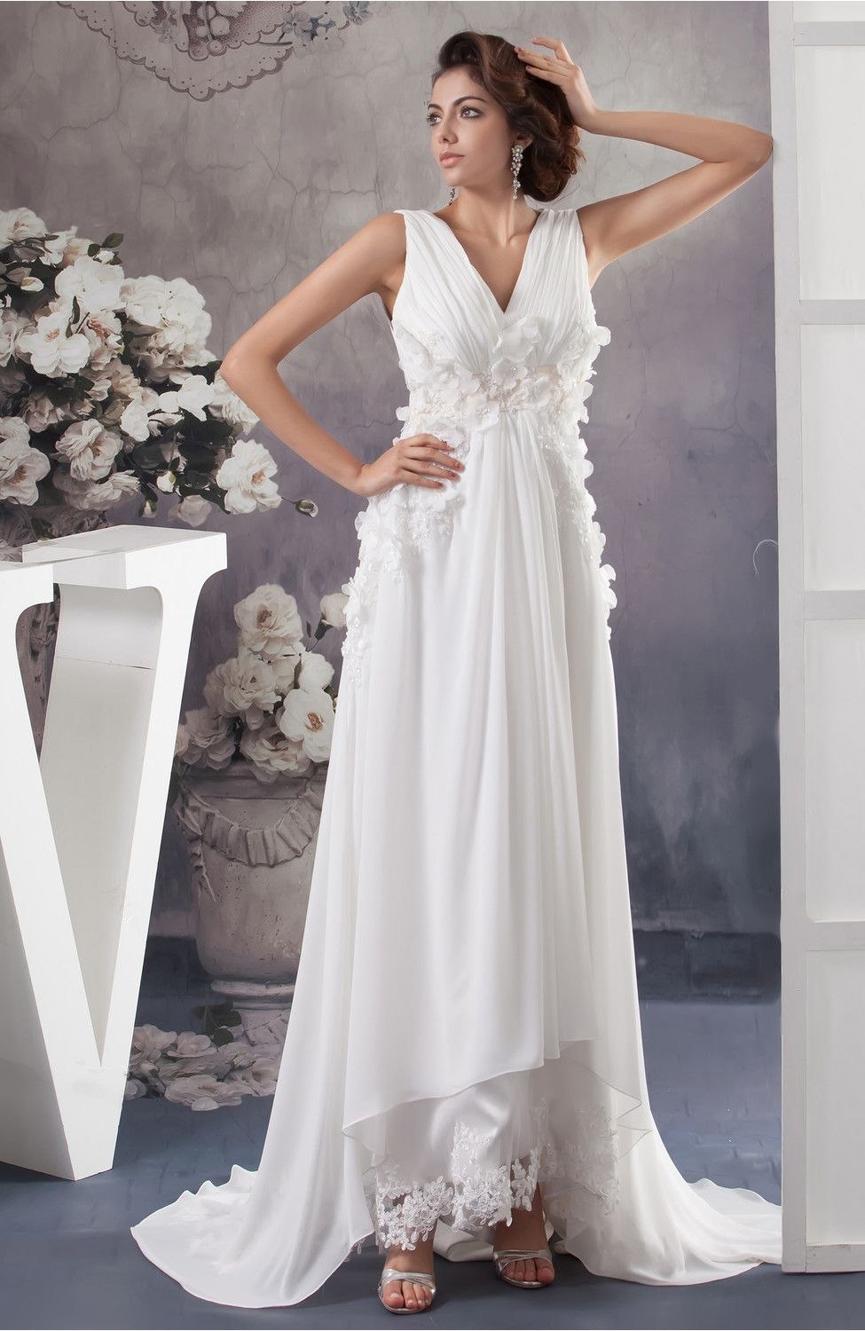 572365b76c13 Allure Bridal Gowns Inexpensive Plus Size Maxi Spring Empire Casual Formal