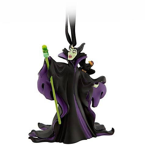 Hang Maleficent and Diablo on your Christmas tree at your