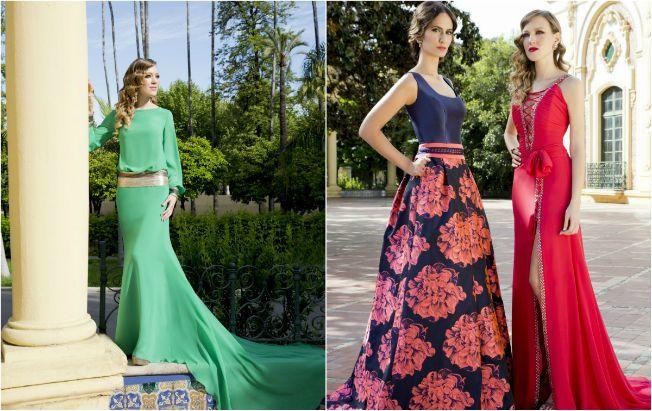 Invitada a una boda en otoño? Busca look en la moda andaluza | Boda ...
