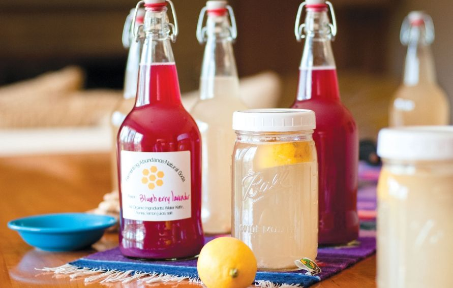 how to make water kefir without sugar