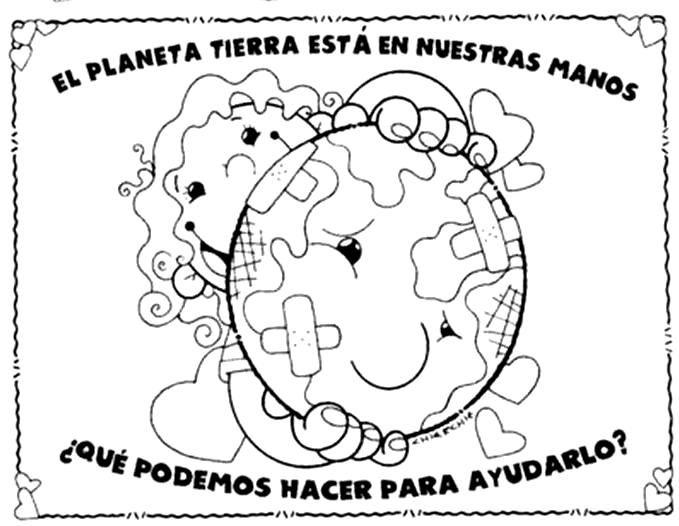Dibujos Para Colorear Medio Ambiente Para Colorear Dia Del Medio Ambiente Dia Mundial Del Medio Ambiente