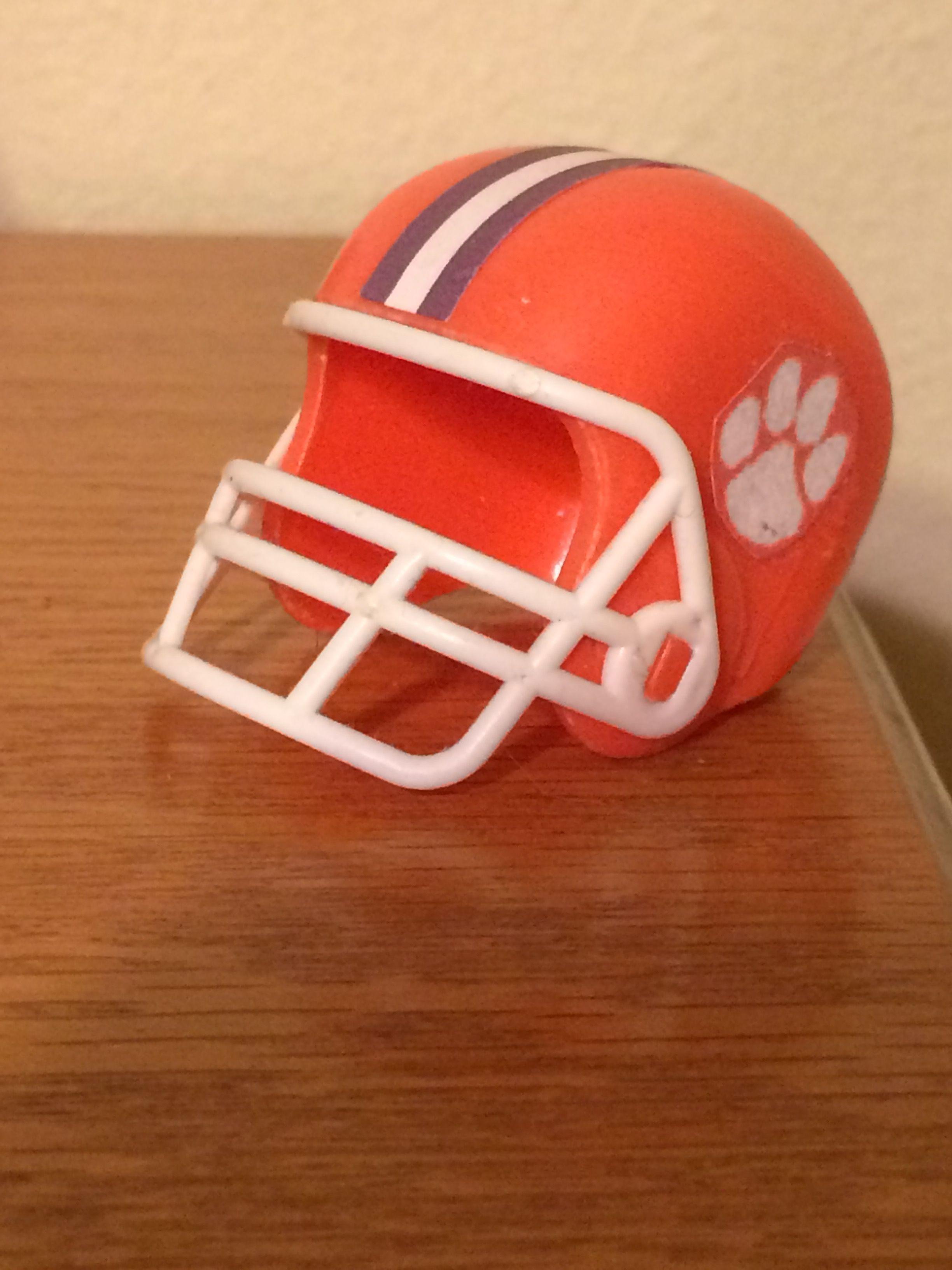 Clemson tigers football helmets school team helmet