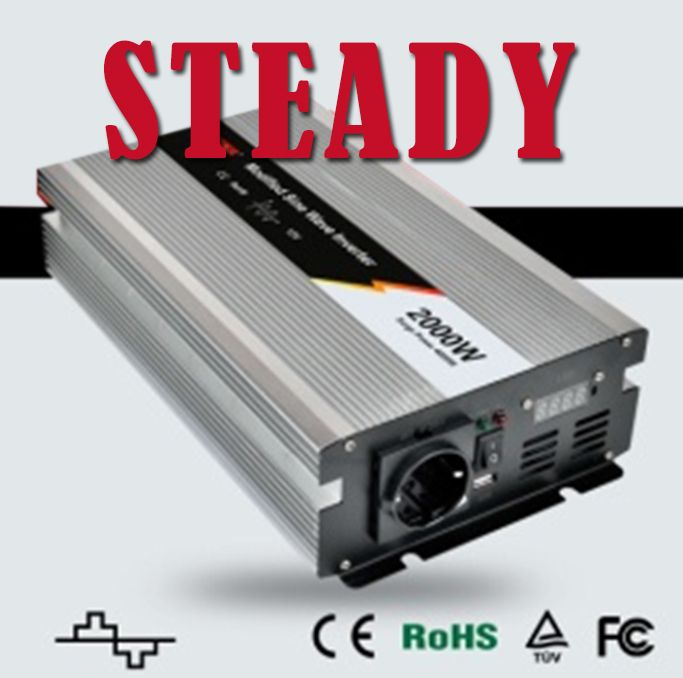 Inverter 24v 220v 2000 Watt Modified Sine Wave Power Inverter
