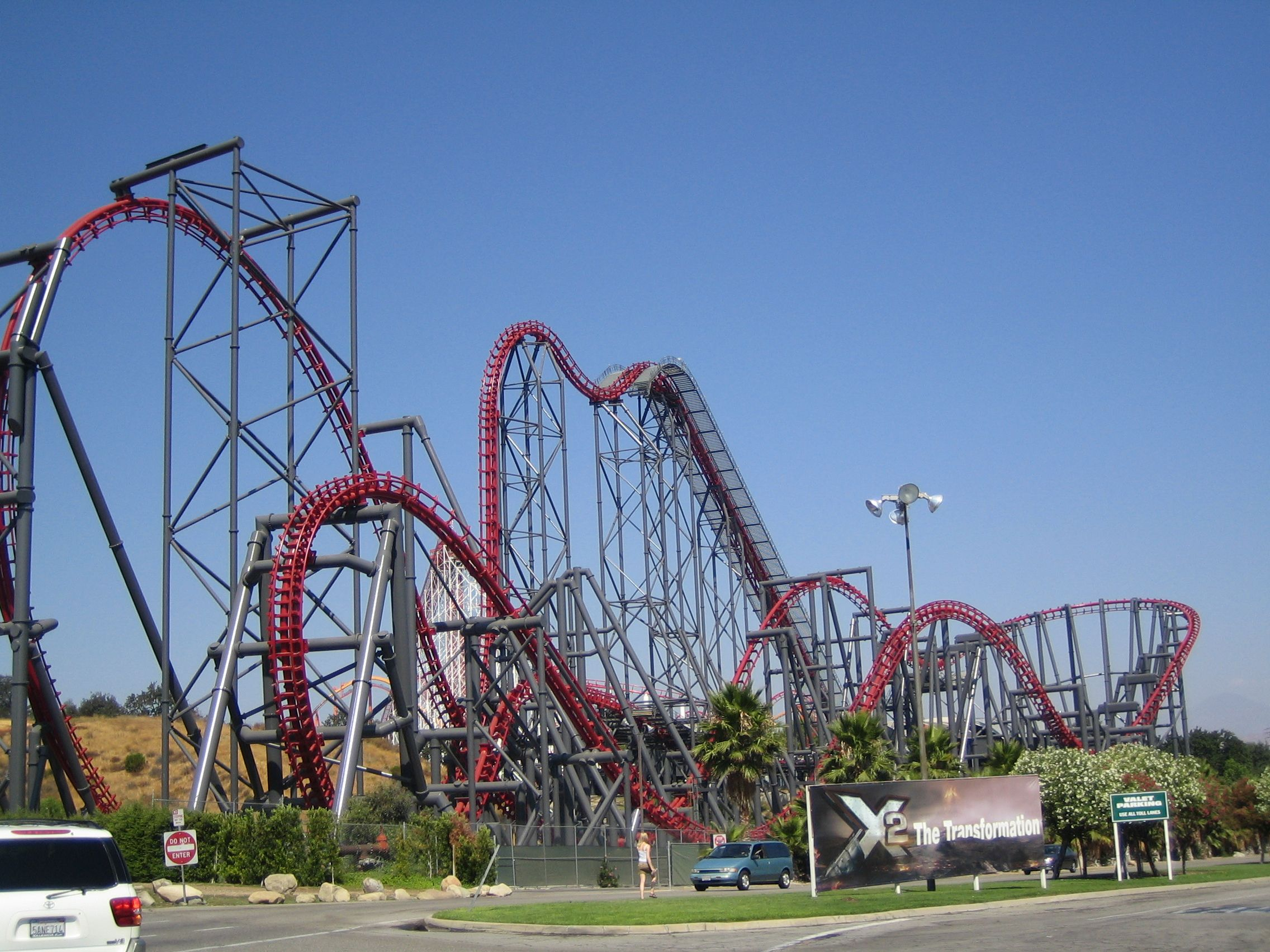 X2 At Six Flags Magic Mountain In Valencia Ca My 2nd Favorite Roller Coaster In The Us Scary Roller Coasters Roller Coaster Thrill Ride