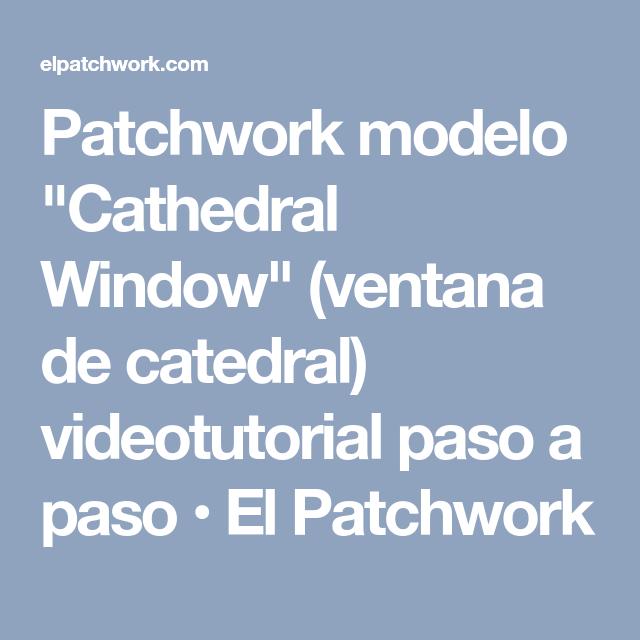 Patchwork modelo \
