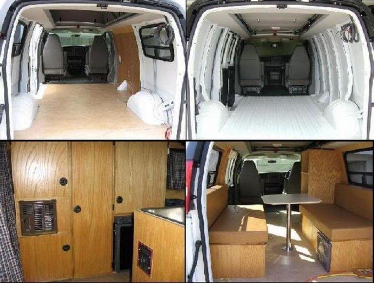 25+ Top Cargo Van Camper Conversion Ideas For Cozy Summer