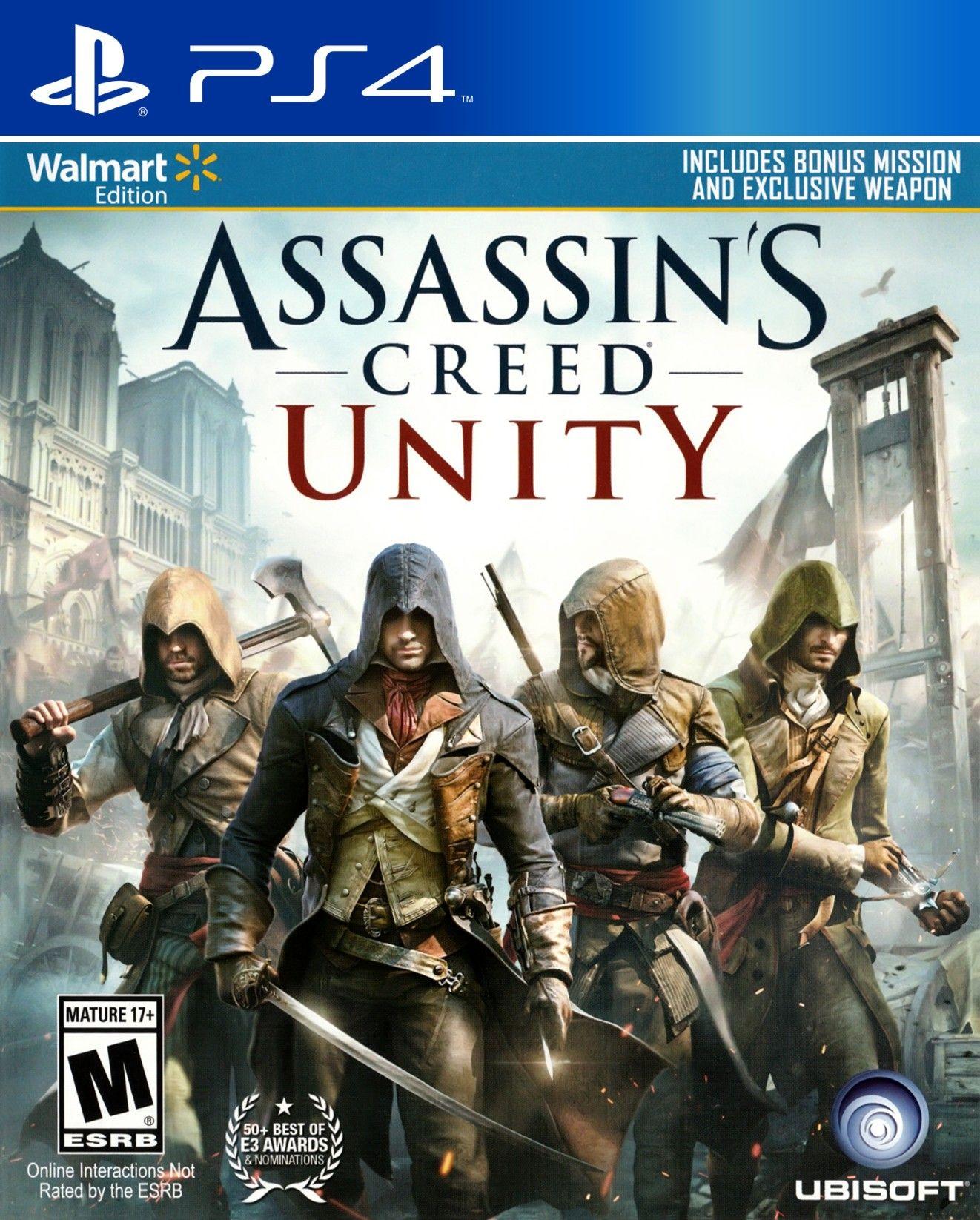 Assassin S Creed Unity Ps4 Assassins Creed Unity Assassin S Creed