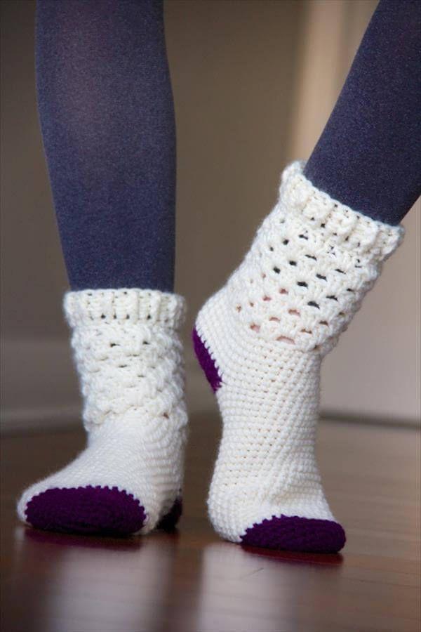 Photo of 5 Kostenlose Häkeln Muster Socken | Diykunsthandwerk…. –  – #Diykunsthandwerk…