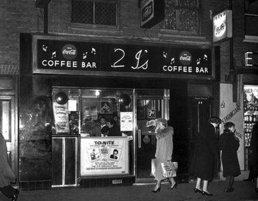 2i's coffee bar Old Compton St...
